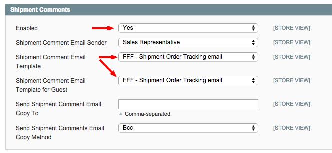 How do I Get Magento to Send Tracking Number Emails
